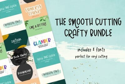 smooth crafting fonts